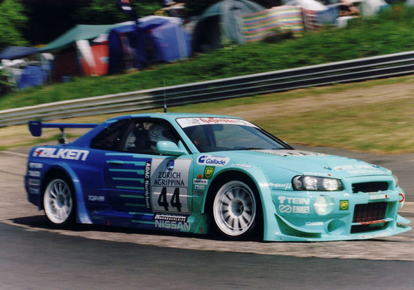 Nürburgring 24 hrs 2004, 5th scratch and 1st in class