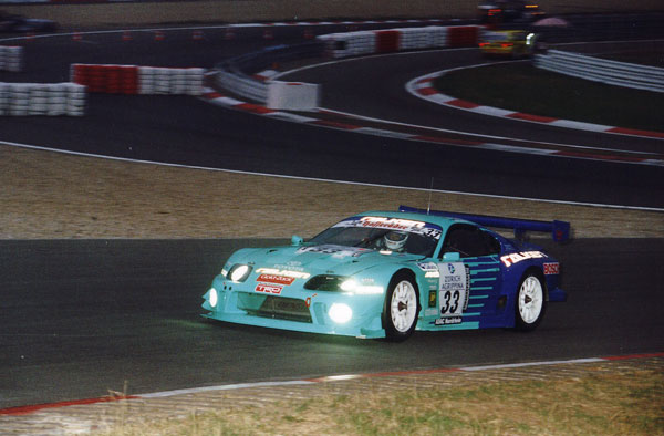 Nürburgring 24 hrs 2000 in a GT2 Supra