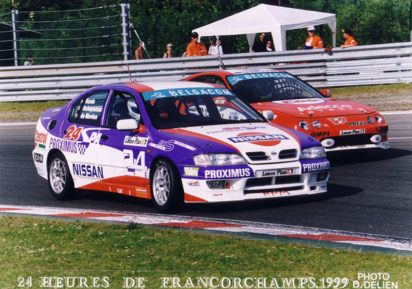 Spa 24 hrs 1999, 4th overall