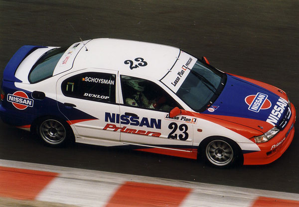 Belgian Touring Car Championship 1998 in an official Primera