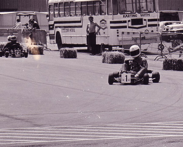 Runner up Belgian & Benelux Championship Karting '80-'81